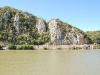 Stânci pe malul Dunării