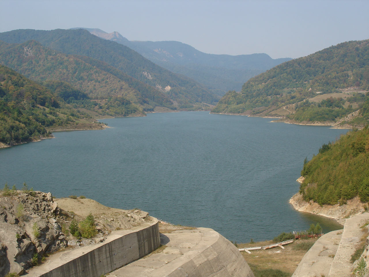Barajul Siriu din Buzau